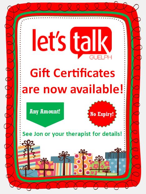 LTG Gift Certificates
